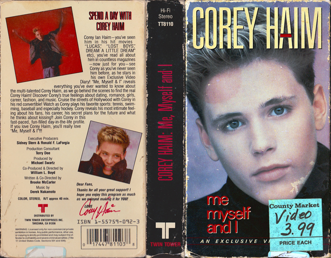 Corey Haim: Me, Myself and I!